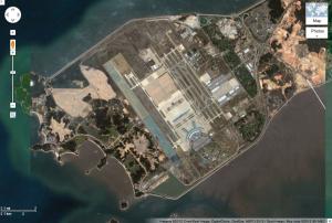 仁川空港周辺図